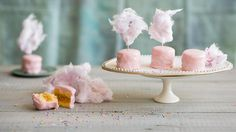These sweet little morsels are traditional Viennese petits-fours. Their delicate sponge layers, punchy rum-spiked apricot filling and pretty pink exteriors make them rather addictive. Rum, Apricot Cake, Sbs Food, Pink Food Coloring, Baking Classes, Pink Foods, Little Cakes, Sponge Cake, Cake Tins
