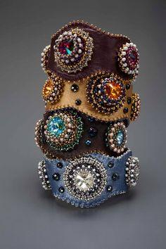 Smart cuff bracelets by Laura McCabe