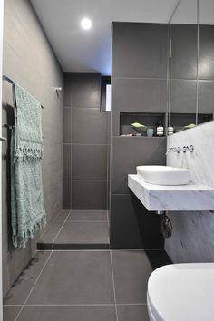 Madi & Jarrod. Ground Floor apartment, ensuite. Tiles M26 Cosmos Negro 600 x…