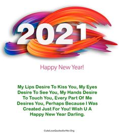 New Year Love Quotes, Love You Forever Quotes, New Year Wishes Quotes, Quotes About New Year, Wish Quotes, Love Quotes For Her, Happy New Year Sms, Happy New Year Message, Happy New Year Images