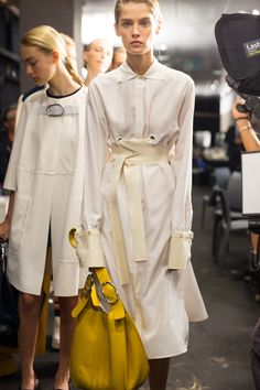 Backstage at #Sportmax #SS16 - More #MFW action on The Hub