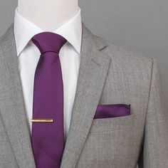 Color: Deep Purple Pattern: Solid wide x long Fabric: Polyester Latest Mens Fashion, Mens Fashion Suits, Mens Sweat Suits, Grey Suit Wedding, Blazer Outfits Men, Grey Suit Men, Suit Combinations, Purple Suits, Fashion Night