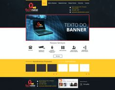 Layout para Technotel - Cliente da Group My