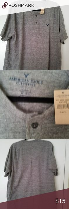 NWT heather gray AE t-shirt never worn,super comfortable, 60% cotton 40%polyester American Eagle Outfitters Shirts Tees - Short Sleeve