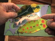 Spoonplug #fishing lure tutorial of Vintage trolling bait that still catches fish today.#Great #Fishing #TipsandTricks for #tackle and #bait.  #Catfish  #walleye #bass #muskie #catfish    #salmon   #panfish and more.