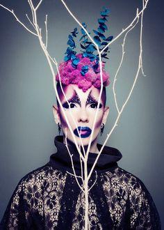 Ryan Burke drag makeup fashion photography