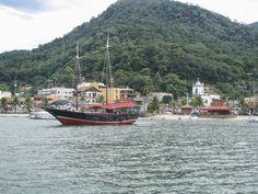 Vista da Praia do Cais de Itacuruçá.
