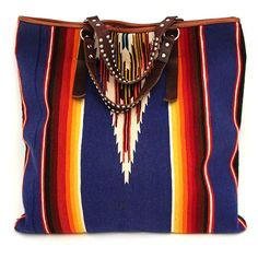 Vintage Serape Large Tote at Maverick Western Wear- perfect for the beach or weekend trip!