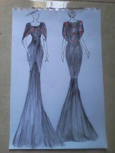 Kebaya, Women's Fashion, Fashion Design, Drawings, Model, Gifts, Dresses, Style, Vestidos