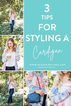 I know what you're thinking. Styling a cardigan? Why? They're just an afterthought! Well, I'm here to tell you that cardigans can be chic! They can be the main focal point of your outfit! Here's how! #coolweather #cutecardigan #whattowearwithacardigan