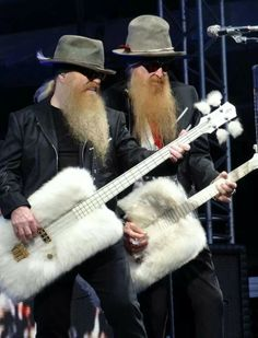 """ZZ Top - saw them on the """"Recycler"""" tour. Savage Hall, Toledo, OH Feb. 1991"""