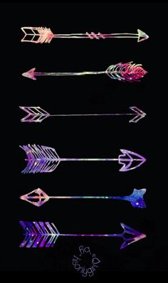 Galaxy arrows