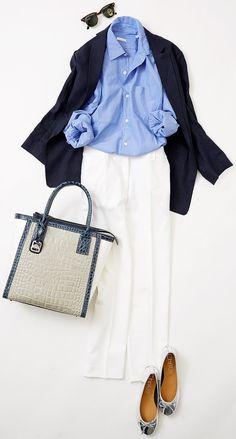 今週のレッスン:フラットシューズを履く日のコーデ(ルミネ新宿) | LUMINE MAGAZINE