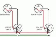 Image result for wiring 2 switches to 2 lights