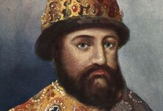 """Mikhail Romanov: In the late century, Russia was racked by a succession crisis known as the """"Time of Troubles."""" In a national assembly elected Mikhail Romanov czar. The Romanovs would rule Russia for the next 300 years. House Of Romanov, Old Portraits, Peter The Great, Old Mother, Imperial Russia, Dio, American Revolution, American History, Royalty"""