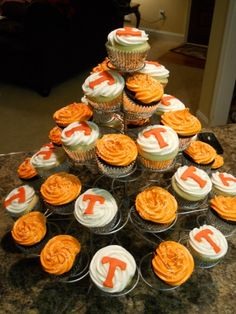Tennessee cupcakes By Brittany6231986 on CakeCentral.com