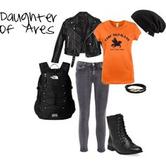 """""""Camp Halfblood: Daughter of Ares"""" by olsen-m on Polyvore"""