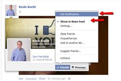 How-To Never Miss a Profile Update again on Facebook