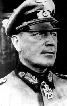 ✠ Rudolf Koch-Erpach (April 9th, 1886 - November 27th, 1971) RK 24.06.1940 Generalleutnant Kdr 8. Inf.Div