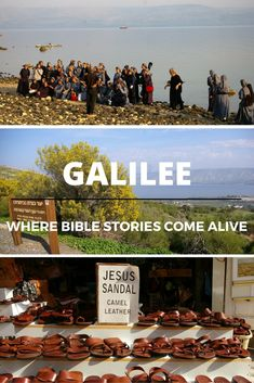 Galilee is a region steeped in history! Follow into the footsteps of Jesus and discover some of the main sites where Bible stories come alive! #Culturetravel