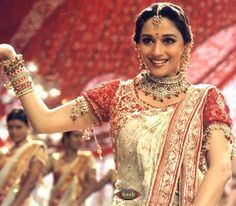 """Bollywood Dance : Madhuri in """"Devdas"""" {2002}At that time it was India's most expensive film at Rs 50 crore."""