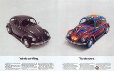 Beetle ad. (See Bug, Phil Patton)