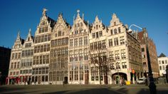 Antwerp on a sunny day
