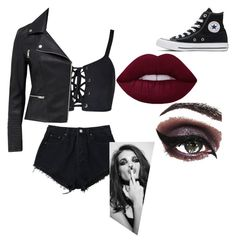 Designer Clothes, Shoes & Bags for Women Concrete Minerals, Andy Black, Converse, Shoe Bag, Polyvore, Stuff To Buy, Shopping, Collection, Design