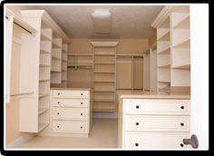 Walk-In Closet with Double...    Please Share, Repin and Like Thanks