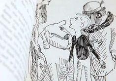 Phantom Tollbooth illustration  by Jules Pfeiffer