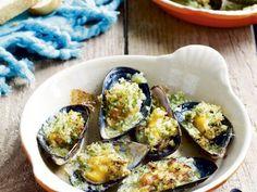 Salsa Verde, Dutch Recipes, Fish And Seafood, Bruschetta, I Foods, Food To Make, Zucchini, Bbq, Good Food