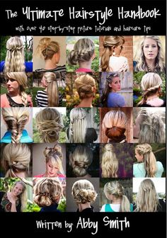 Forty hairstyles with step-by-step picture tutorials!  www.myyellowsandb...