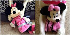 Minnie Mouse dog toys from PetSmart
