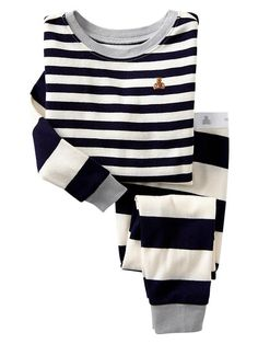 Gap | Contrast stripe sleep set | I want these for my boy & for me!!!