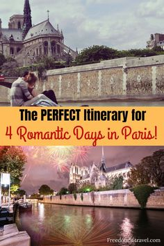 You need this perfect Paris Itinerary! Whether it's your first time or time these romantic things to do in summer and winter will make your vacation in Paris the perfect time! babies flight hotel restaurant destinations ideas tips Paris Travel Guide, Europe Travel Tips, Travel Usa, Travel Destinations, Travel Guides, Travel Abroad, Romantic Things, Romantic Travel, Romantic Escapes