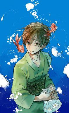 Free! ~~ A teardrop below the surface :: Chibi Tachibana Makoto