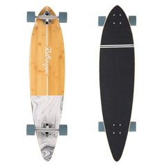 Zed Pintail weaves California beach nostalgia with 41 inches bamboo and Canadian maple, PU wheels, and bearings. Shop now! Longboard Cruising, Skate Longboard, Bamboo Longboard, Pintail Longboard, Longboard Design, Skateboard Design, Skateboard Art, Drop Through Longboard, Bamboo Decking
