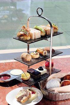High Tea at Hotel Mandarin Oriental Hong Kong