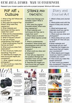 Year 10- Don't forget your Summer Task. Be ready and prepared for the first day back, you might have art! Miss Tickle