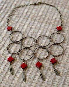 Tibetan Link Bib Necklace