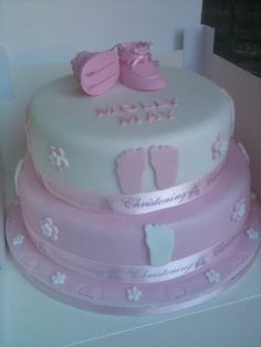 Molly may's Christening Cake
