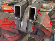 Making dies and rollers to bend square tubing - Hot Rod Forum : Hotrodders Bulletin Board