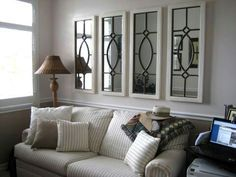 Decorating With Architectural Mirrors  Decorating Room And Awesome Dining Room Mirrors Modern Design Inspiration