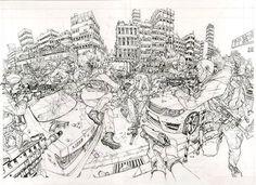 "15.5 mil curtidas, 76 comentários - Kim Jung Gi US (@kimjunggius) no Instagram: ""Spy Games  #kimjunggi #conceptart #illustration #comics #drawing #doodle #sketch #spygames @jdmorvan"""