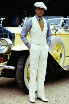 "Robert Redford - ""The Great Gatsby"" - Costume designer : Theoni V. Great Gatsby Outfits, Great Gatsby Wedding, The Great Gatsby, Great Gatsby Fashion Mens, Mens Gatsby Outfit, 1920s Fashion Male, Robert Redford, Gatsby Man, Jay Gatsby"
