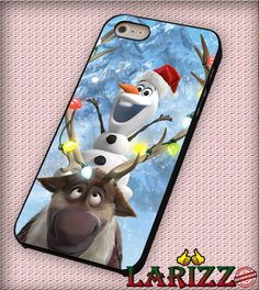 """olaf disney for iPhone 4/4s, iPhone 5/5S/5C/6/6 , Samsung S3/S4/S5 Case """"08"""""""