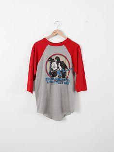 vintage Bruce Springsteen t-shirt / 1980 tour baseball tee on Etsy, $150.00