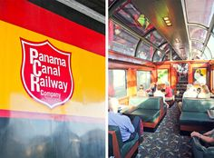 Panama City Train - visiting the canal