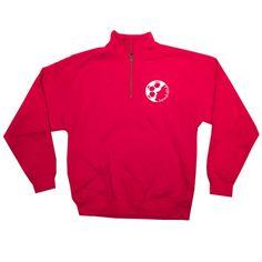 1/4 Zip Sweatshirt with SGP Crest