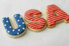 Bee in our bonnet: 4th of July Cookies